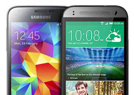 Galaxy S5 Mini VS HTC One Mini 2: compacte telefoons vergeleken