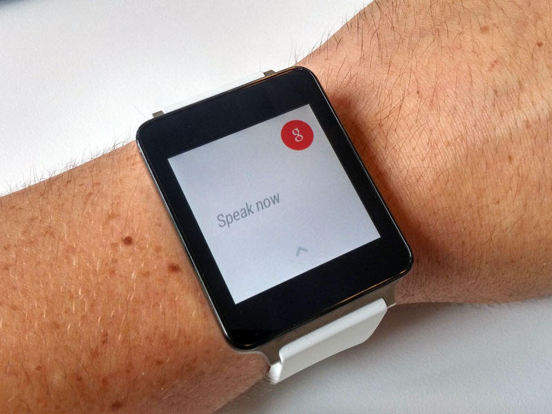 android wear spraak
