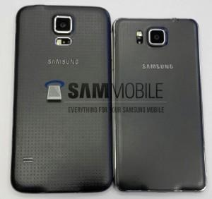 Foto's: dit is de metalen Galaxy Alpha van Samsung