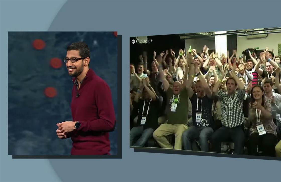 Bekijk alle highlights van Google I/O 2014