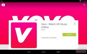 Screenshots: het nieuwe design van Google Play met Android L