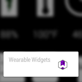 wearables widgets