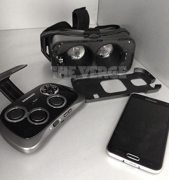 Foto: dit is de virtual reality-bril van Samsung