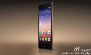 Huawei Ascend P7 met saffierglas