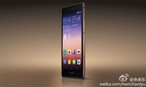 Huawei Ascend P7 met saffierglas verschijnt volgende maand
