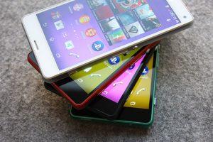 Xperia Z3 Compact foto's