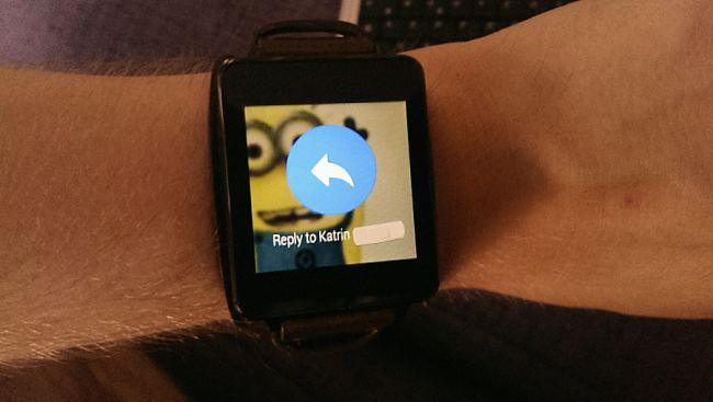 WhatsApp en Facebook ondersteunen Android Wear (download)