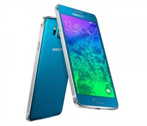 'Samsung Galaxy A: serie gebaseerd op metalen design Galaxy Alpha'