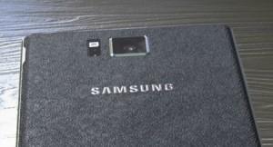 'Duidelijke Galaxy Note 4 foto's gelekt, achterkant opnieuw van kunstleer'