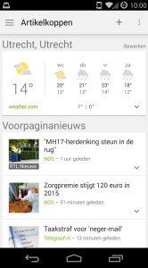 Google Nieuws app van de week