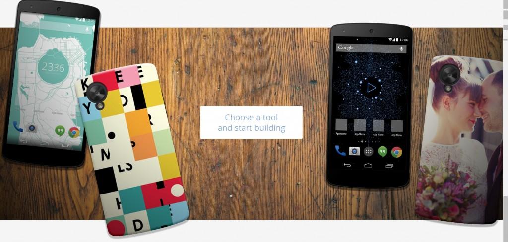 Google laat je binnenkort eigen hoesjes maken voor Nexus-toestellen