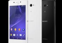 Sony introduceert Xperia M2 Aqua, midrange waterdichte smartphone