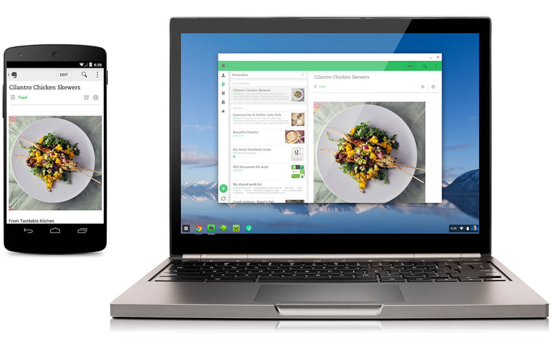 Eerste Android-apps voor Chrome OS nu beschikbaar