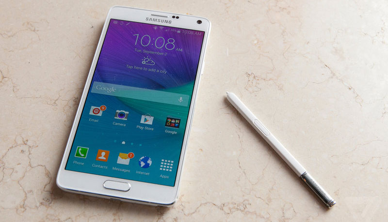 'Galaxy Note 4 en Galaxy S5 Android L updates komen eind dit jaar'
