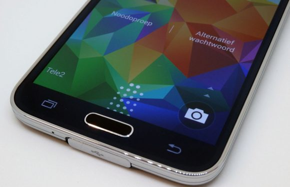 'Samsung geeft Galaxy S6 verbeterde vingerafdrukscanner'