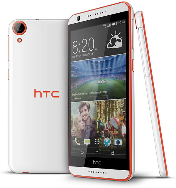 HTC onthult midrange Desire 820 met 64-bits octacore-processor