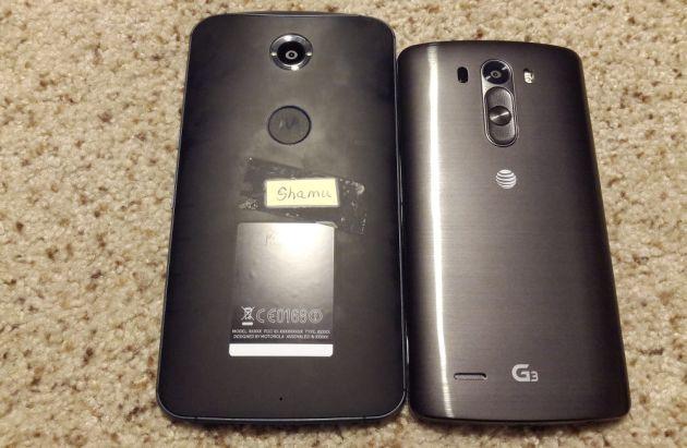 'Nieuwe foto vermeende Nexus-smartphone lekt uit'