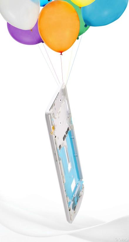 Foto: Oppo N3 krijgt lichtgewicht aluminium behuizing