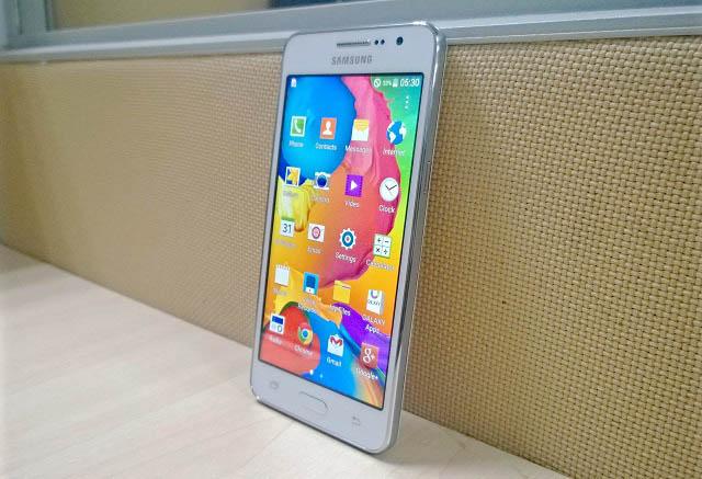 Foto's: 'Galaxy Grand Prime met 5 megapixel-selfiecamera lekt uit'