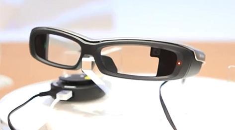 Sony komt met Google Glass-concurrent: SmartEyeglass