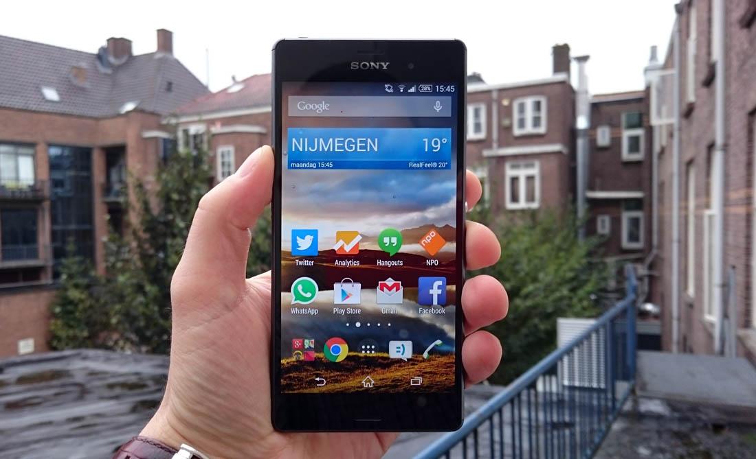 Sony Xperia Z3 Review: verfijnde smartphone met indrukwekkende accuduur