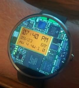 Deze Android Wear-app toont de (digitale) binnenkant van je smartwatch