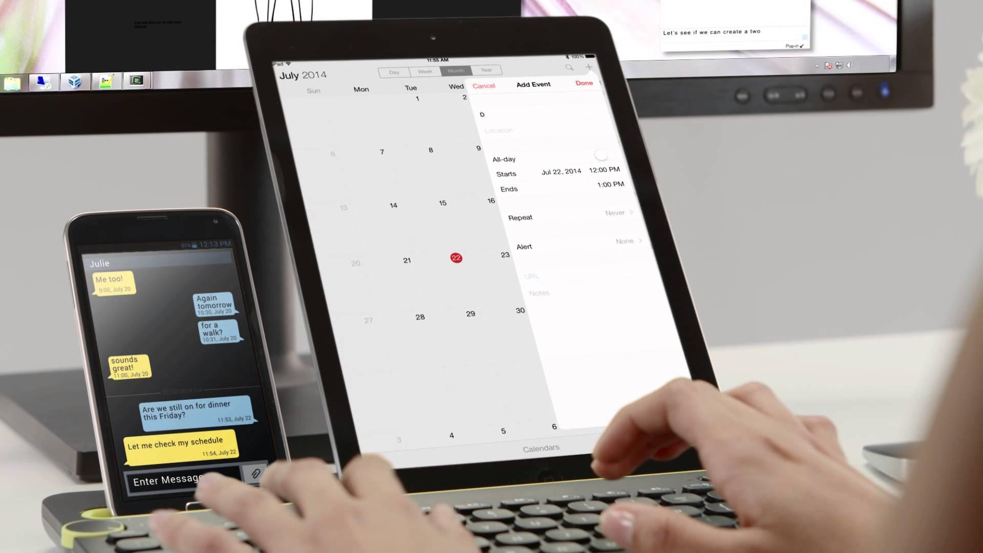 Logitech K480 bluetooth keyboard Review: multifunctioneel en zwaar