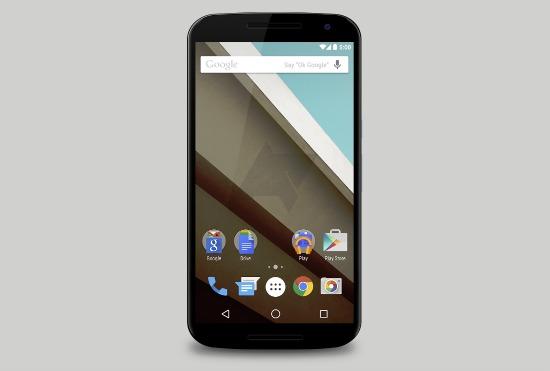Dit is de Nexus 6: 5,9 inch QHD-scherm, 3200 mAh-accu en Android L