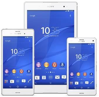 Sony onthult nieuwe smartphones, wearables en compacte tablet op IFA