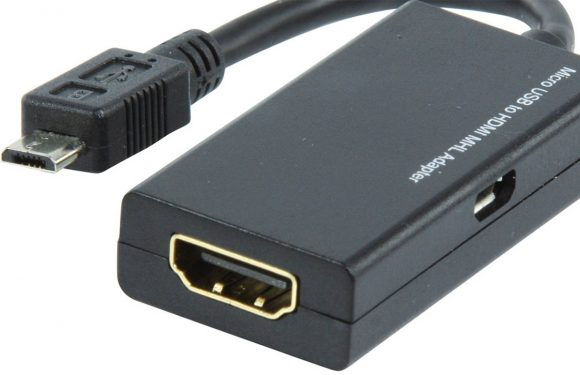Speel video vanaf je Android-toestel op de televisie met een HDMI-adapter