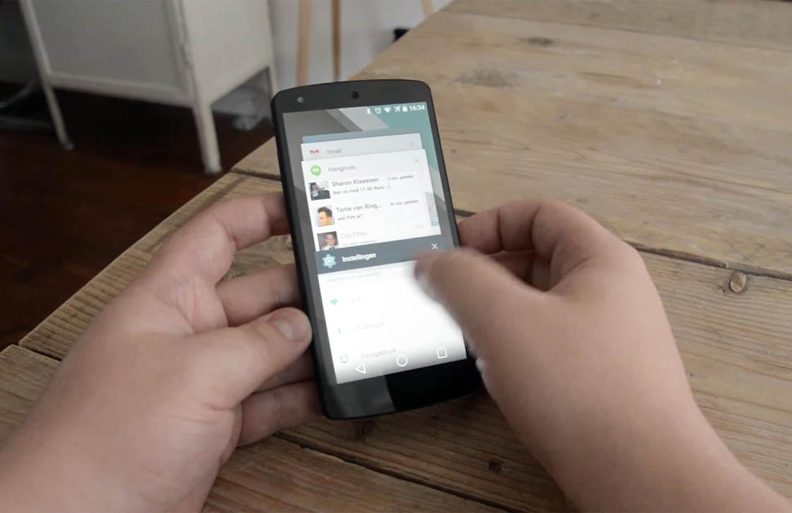 Android L preview: een indruk van het nieuwe Android