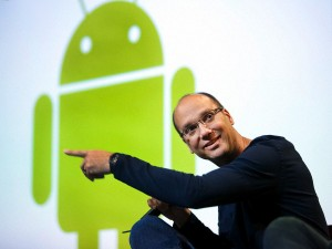 Android-oprichter Andy Rubin vertrekt bij Google