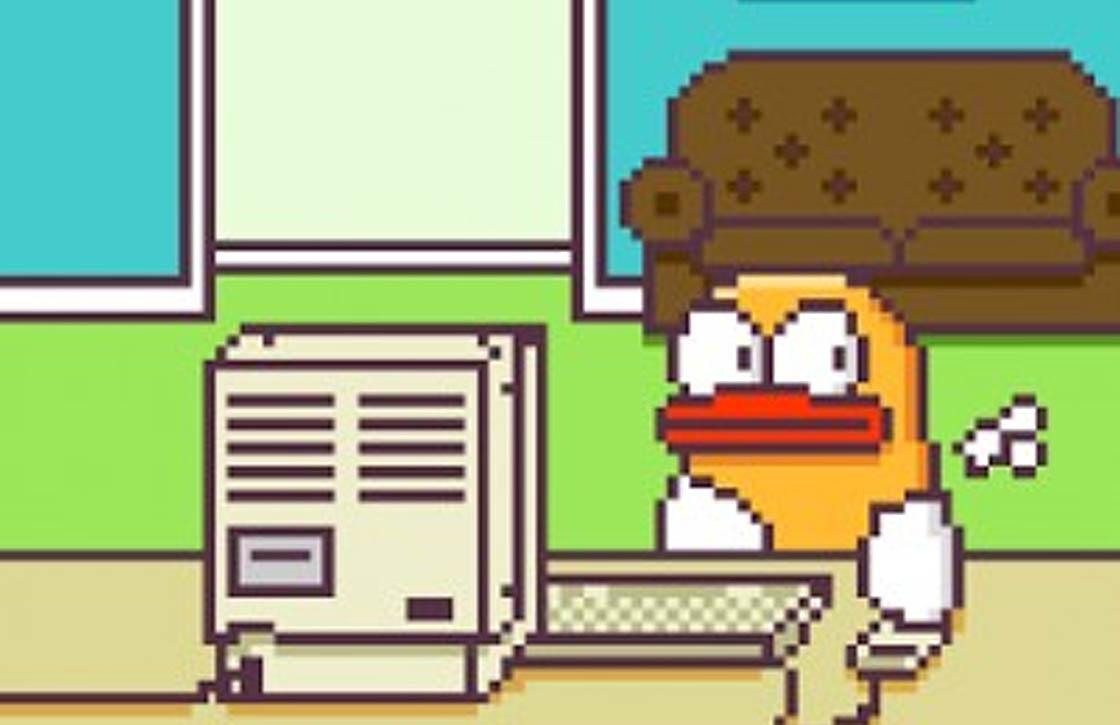 Fappy Bird, de onkuise versie van Flappy Bird