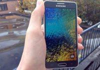 'Samsung gaat stoppen met Galaxy Alpha'