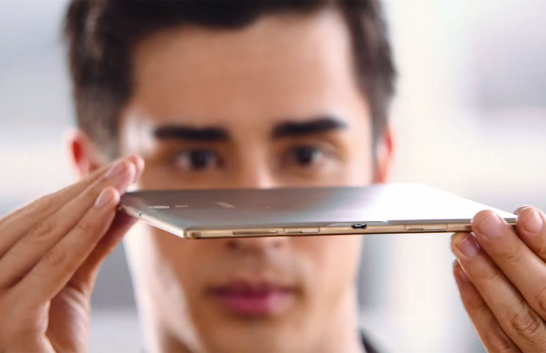 'Samsung Galaxy Tab S2 wordt dunner dan iPad Air 2'