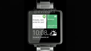 Vertraagde HTC smartwatch