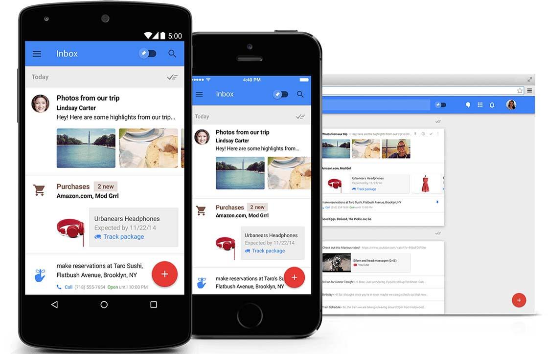 Google test nieuwe zoekfunctie voor Inbox