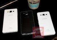 'Foto's metalen Samsung Galaxy A5 en Galaxy A3 duiken op'