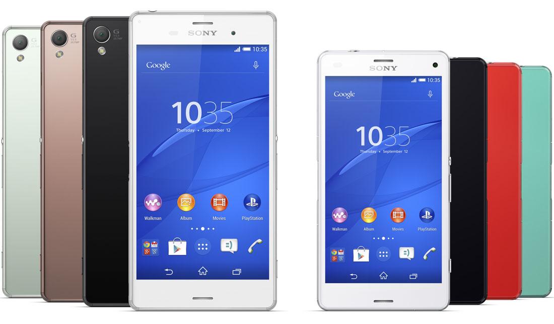 Teruglezen: onze reviews van de Sony Xperia Z3 en Z3 Compact