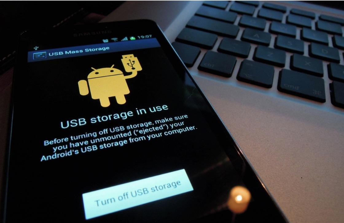 In 6 stappen Android-toestel als opslagmedium gebruiken