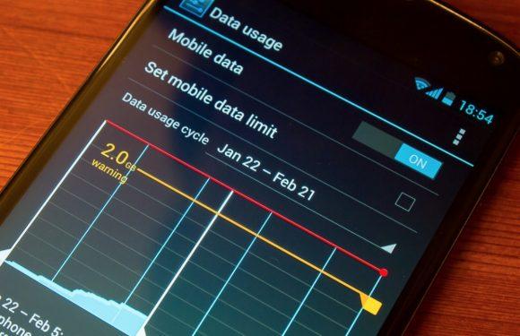In 4 stappen je datagebruik in Android bijhouden