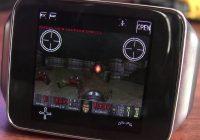 Zo ziet Doom eruit op een smartwatch met Android Wear