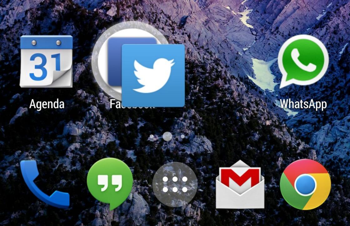 In 4 stappen folders, mappen en snelkoppelingen in Android aanmaken
