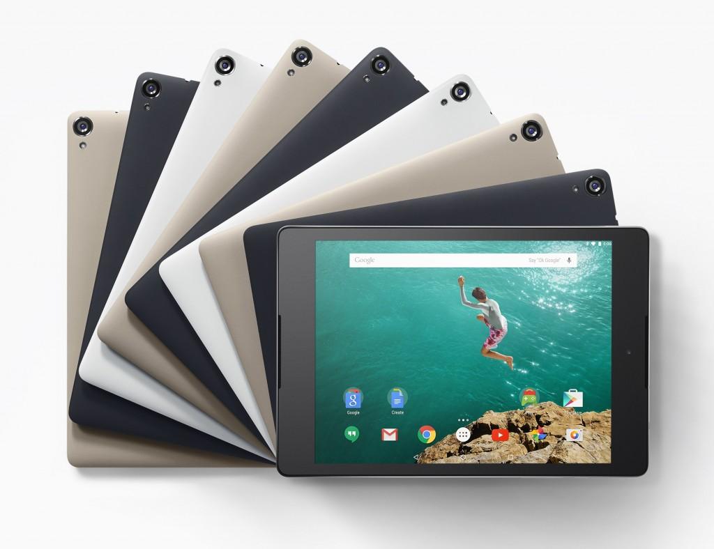 Google onthult Nexus 9: tablet vanaf 3 november te koop voor 399 euro