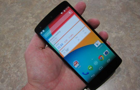 Nexus 5 hands-on: eerste indruk