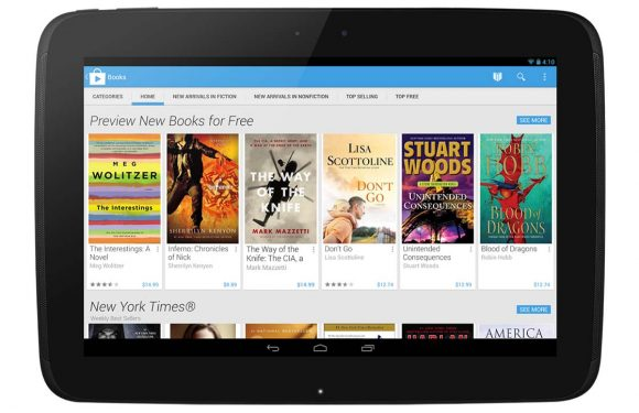Download: Play Books geüpdatet met fraai Material Design