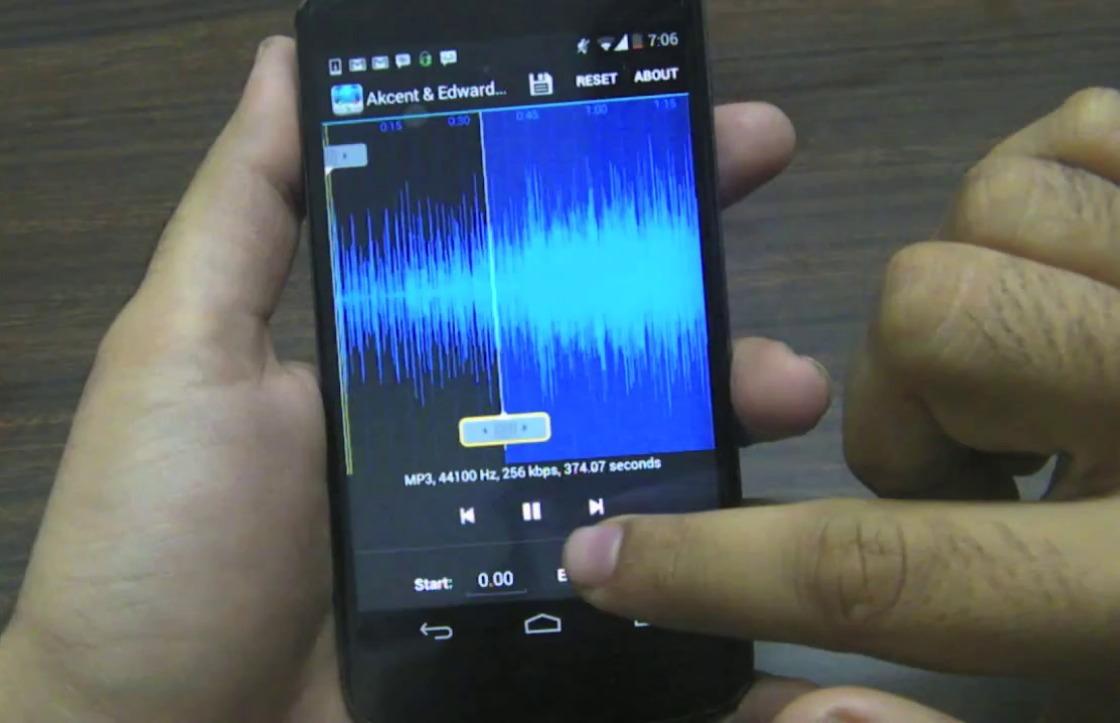 In 3 stappen van een MP3-bestand je ringtone maken