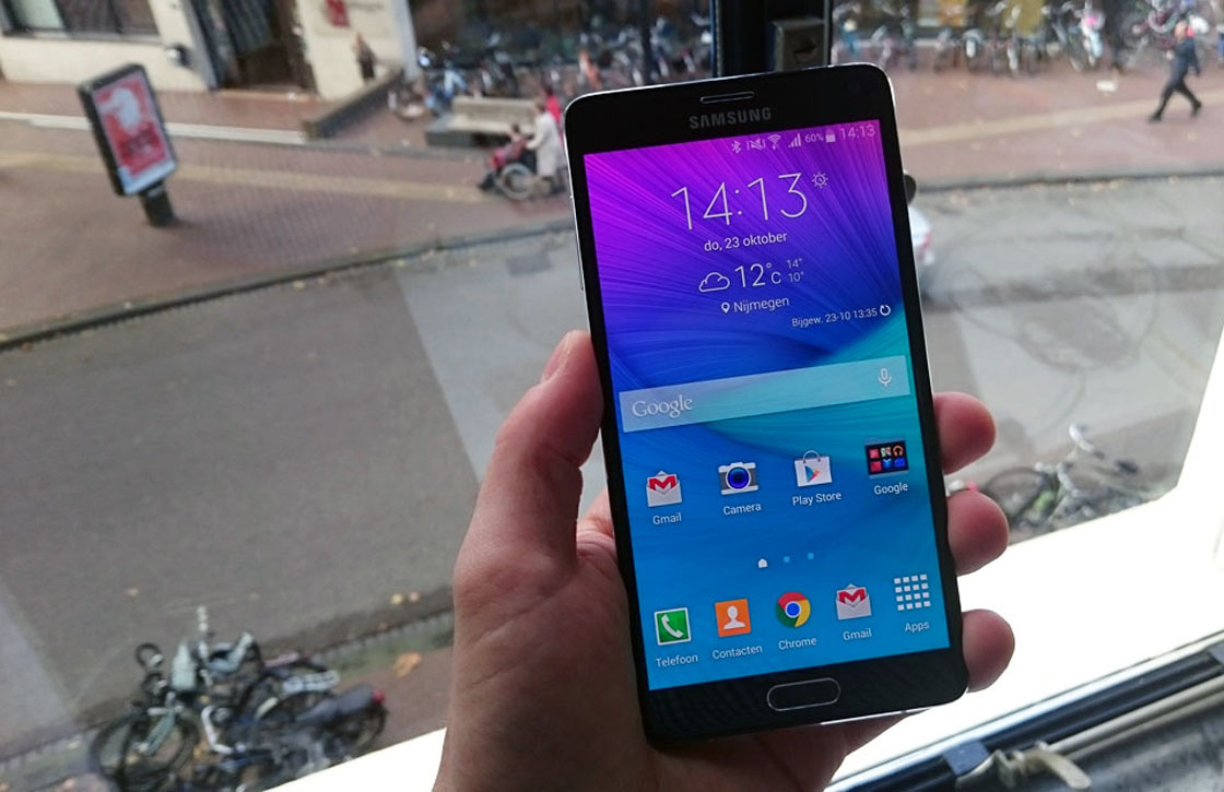 Samsung start uitrol Galaxy Note 4 Lollipop-update