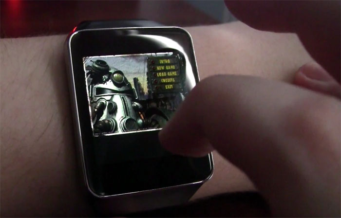 Video: zo zien Fallout en Doom eruit op een smartwatch