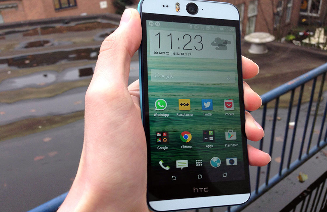 HTC start uitrol Android Lollipop-update voor Desire Eye